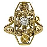 Arts & Crafts Diamond Ring