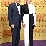 Eugene Levy and Catherine O'Hara at the 2019 Emmys