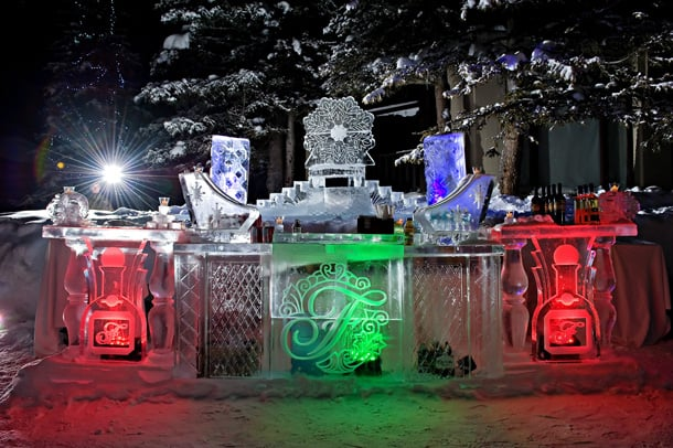 Outdoor Ice Bar
