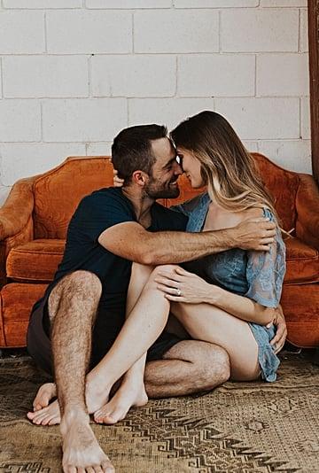 Sexy Couples Boudoir Photo Shoot