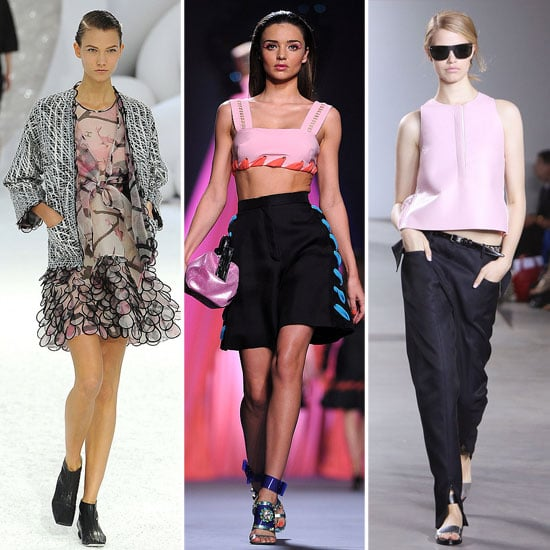 Spring 2012 Cool Colour Combo: Pink + Black