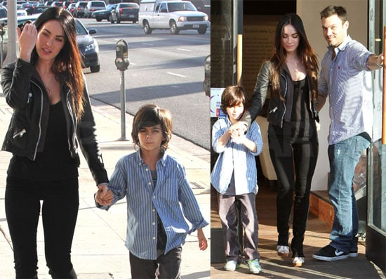 Photos of Megan Fox, Brian Austin Green, And Kassius Green Shopping Around LA