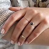 Big and Round: Black Diamond Aura Ring
