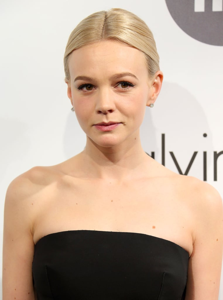 At the Calvin Klein party in Cannes, Carey Mulligan went bare bones with her makeup look. You do want your future spouse to see your natural beauty, after all.