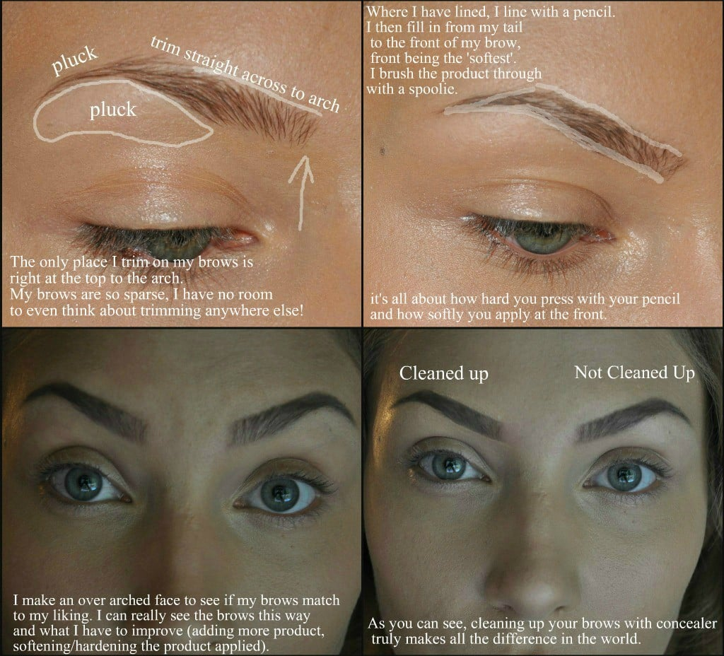 Brows How To Get Victorias Secret Angel Makeup Popsugar Beauty