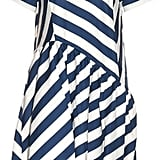 House of Holland Striped Short-Sleeved Dress  (£370)