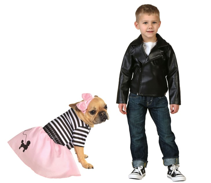 T-Bird and Pink Lady | Halloween Costumes For Kids and Their Pet ...