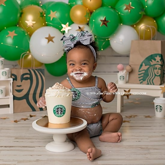 Starbucks Cake Smash Photos