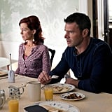 Carrie Preston as Arlene and Scott Foley as Patrick on True Blood. Photo courtesy of HBO