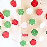 Christmas Dot Garland
