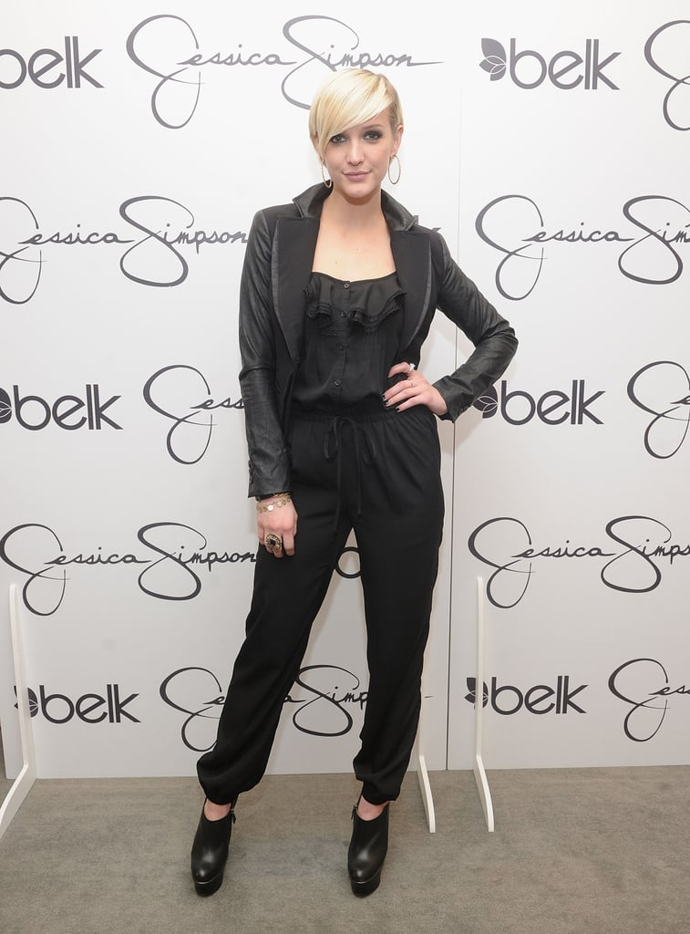 Ashlee Simpson at an event in NC.