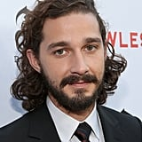 Shia LaBeouf displayed long hair and a full beard at the premiere of his new film, Lawless, in LA.