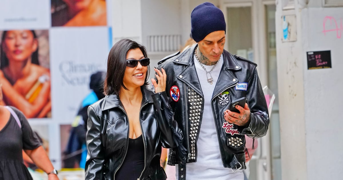 Kourtney Kardashian's Engagement Ring From Travis Barker Is, Indeed, Enormous.jpg