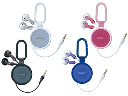Sony's New Retractable Headphones