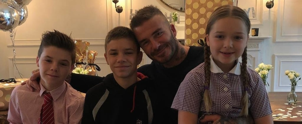 Beckham Family Celebrates David's 43rd Birthday