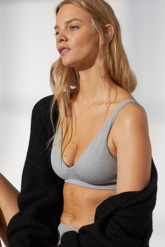 H&M Seamless Ribbed Bra
