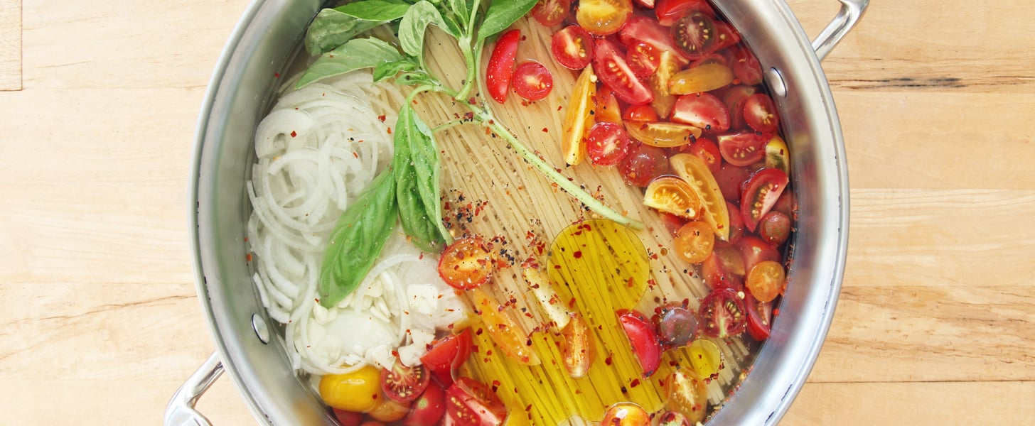 One-Pot Pasta With Tomatoes