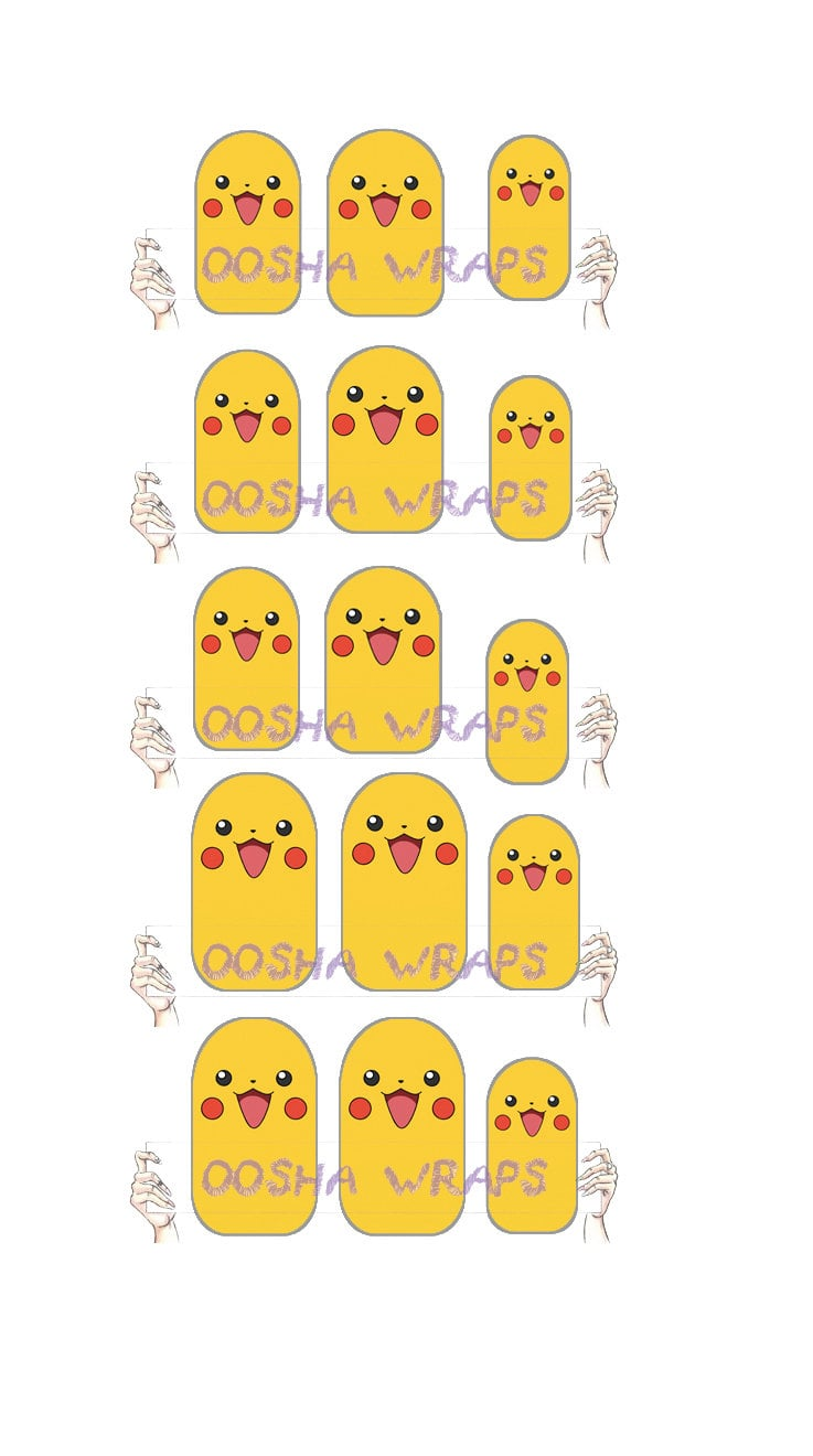 It doesn't get any more adorable than the Pikachu Nail Wraps ($6), which come in a set of 15.