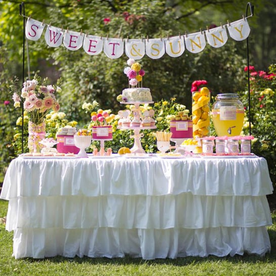 Lemonade-Themed Birthday Party