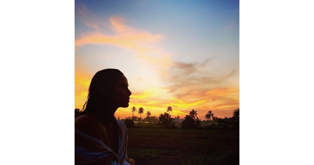 Padma Lakshmi Bikini Instagram Pictures In India 2015