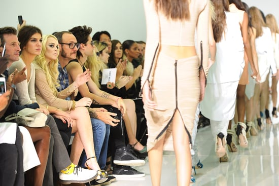 Review and Pictures of Kanye West 2012 Spring Summer Paris Fashion Week Runway Show