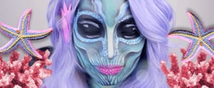 10 of Laura Sanchez's Terrifying Halloween Makeup Tutorials That'll Make Your Skin Crawl