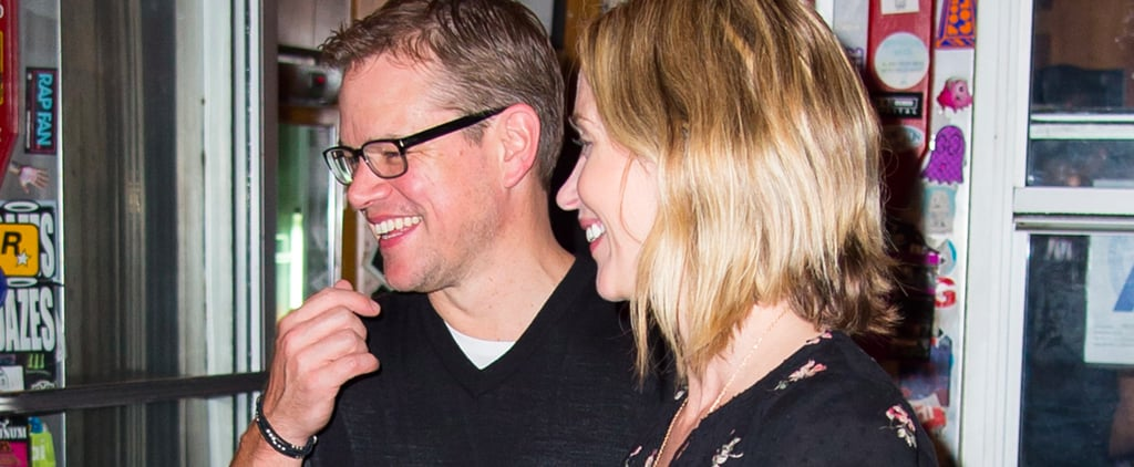 Who Knew? Matt Damon and Emily Blunt Have a Triple Date With Chelsea Clinton