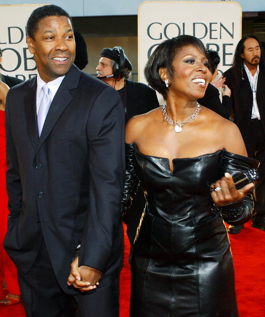 2002 Denzel And Pauletta Washington S Cutest Pictures