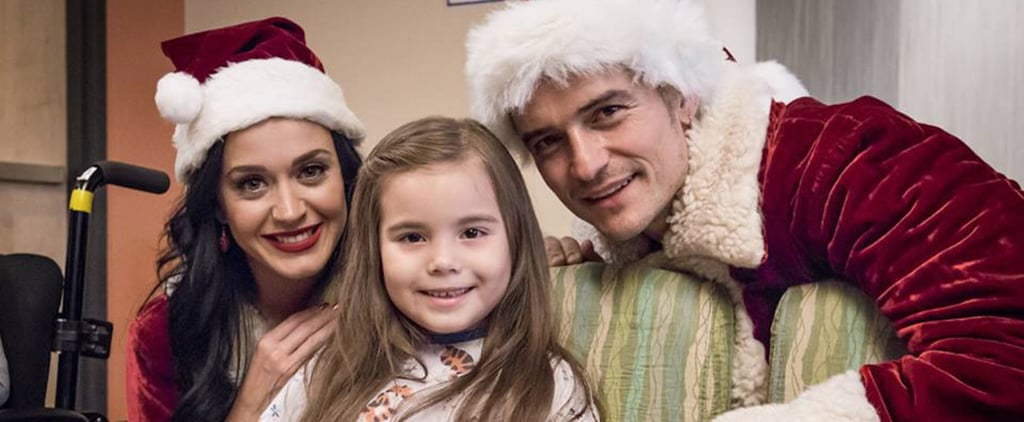 Katy Perry and Orlando Bloom Visit Sick Kids Dressed Up as Mr. and Mrs. Claus