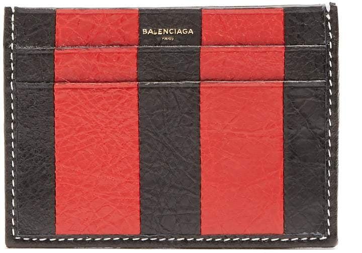 Bazar leather cardholder Balenciaga 5nmHFW3M
