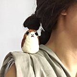 Felted Mini Porg