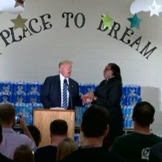 Pastor Interrupts Donald Trump in Flint, Michigan
