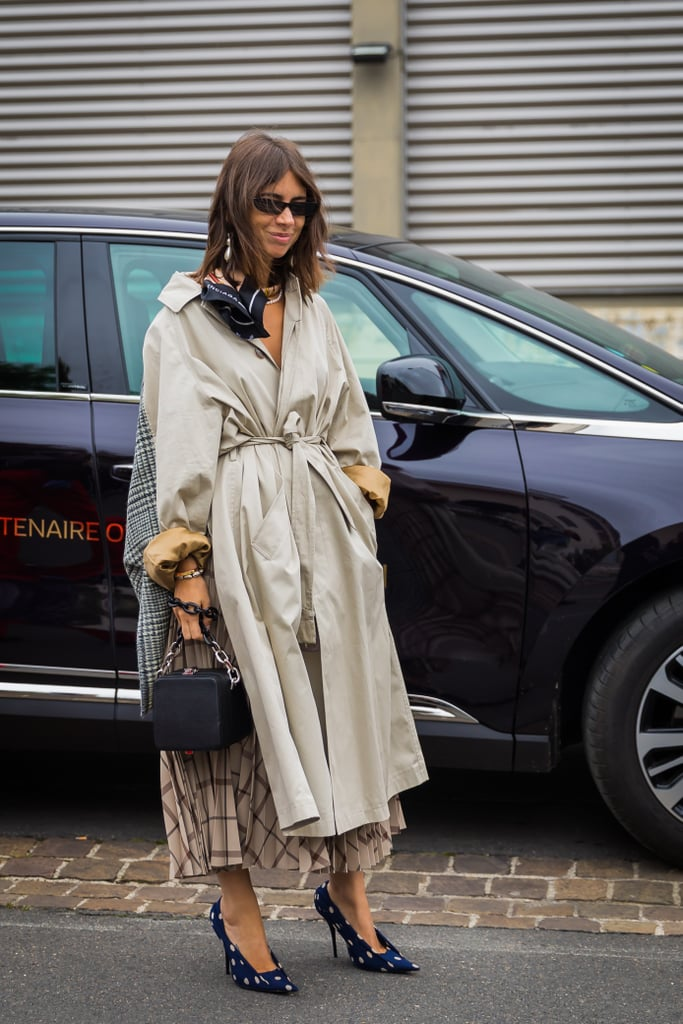 Bunch Up Your Oversize Coat and Cinch It Tightly at the Waist