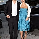 Jessica Alba and Cash Warren hit the town in LA together.
