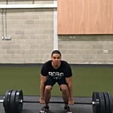 Ray Fisher channels Cyborg to max out on his deadlifts.