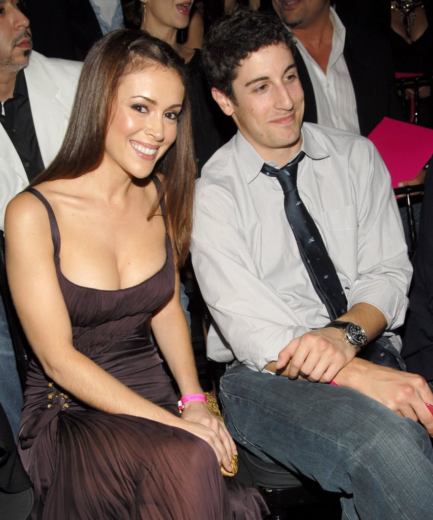 Alyssa Milano and Jason Biggs sat together at the 2006 show.
