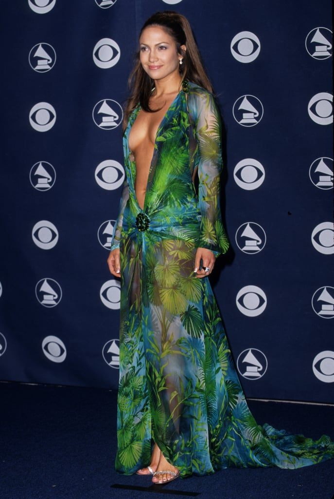 Raise your hand if you remember anything about the 2000 Grammy Awards aside from Jennifer Lopez's dress!