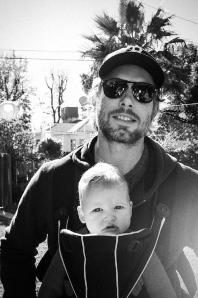 Jessica Simpson showed off the loves of her life — lil Maxwell and fiancé Eric Johnson — on Thanksgiving. Source: JessicaSimpson.com