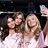 Pictured: Lily Aldridge, Josephine Skriver, and Elsa Hosk