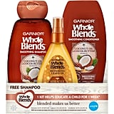 Garnier Whole Blends Coco Cocoa 3-Piece Holiday Kit