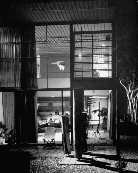 Case Study House         Ray and Charles Eames House  Los Angeles  Modern Blog