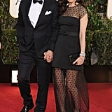 Daniel Craig and Rachel Weisz walked the Golden Globes red carpet together.