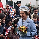 Pictures of Queen Elizabeth II's Silver Jubilee
