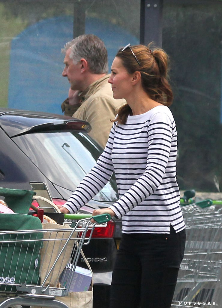 Kate Middleton stepped out for a shopping trip on the island of Anglesey.