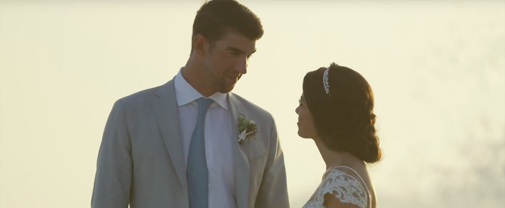 There Is Only 1 Word to Describe Michael Phelps and Nicole Johnson's Wedding Video: Stunning