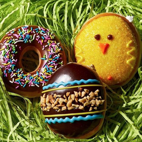 Krispy Kreme Spring Reese's Easter Egg Doughnut