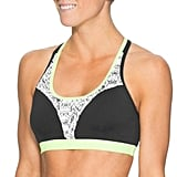 The top of the Athleta Torpedo Bikini ($54) fits just like a sports bra. The sleek and stretch top keeps your bust contained, while a splash of neon keeps the look fun.
