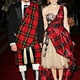 Alexander McQueen and Sarah Jessica Parker — 2006