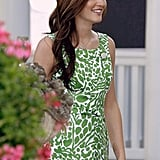 Blair Waldorf's Spring/Summer Palette: Green and Blue