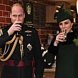 Prince William and Kate Middleton on St. Patrick's Day 2018
